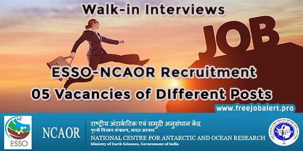 ncaor recruitment vacancies sarkari naukari govt jobs apply online