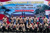 5 Angkatan Maung AKPOL Polda Banten Kompak Sukseskan Vaksinasi dan Bansos Bersama