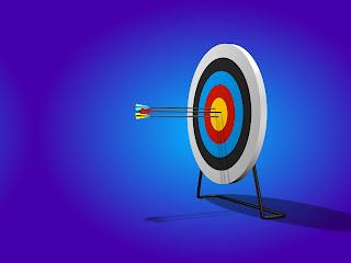 Indoor archery target