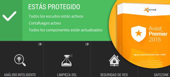 Avast Premier 2015 Descargafull Español Licencia Hasta 2050