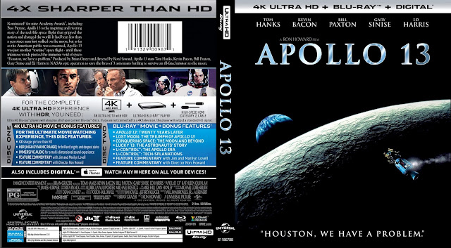 Apollo 13 4k Bluray Cover