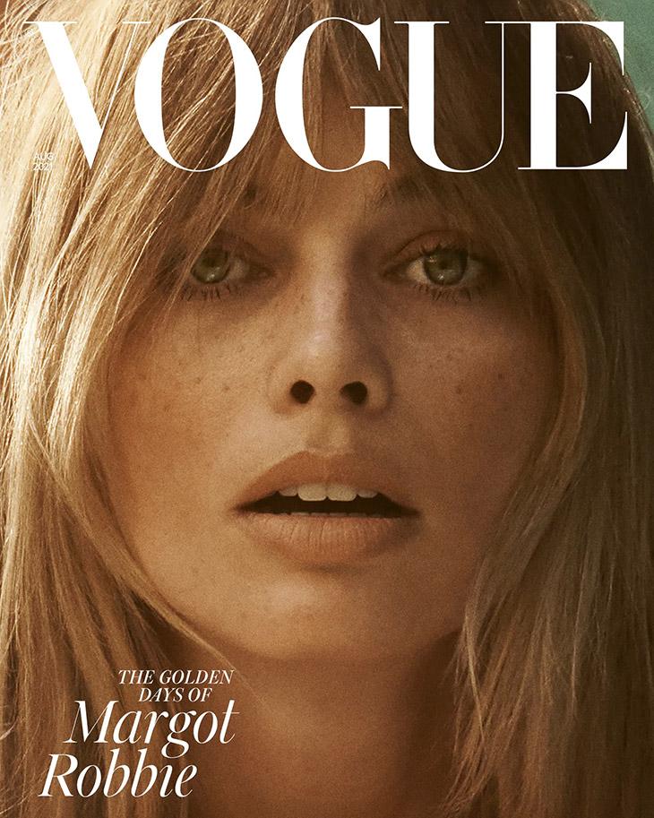 Margot Robbie for British Vogue