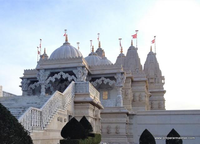 visitar el templo hinduista de Londres