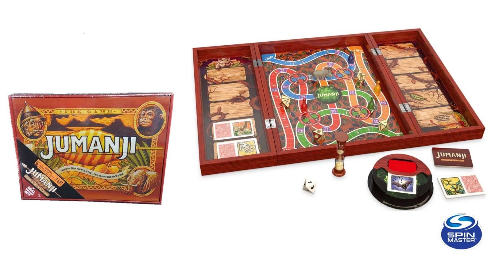 Fumetteria inkiostro alassio jumanji il gioco versione in legno - Jumanji gioco da tavolo ...