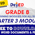 GRADE 8 | Quarter 3 Self-Learning Modules (SLM) ALL SUBJECTS! Free Download