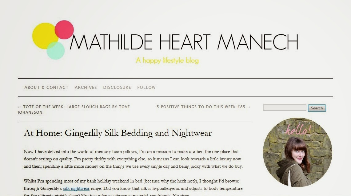 Mathilde Heart Manech Blog