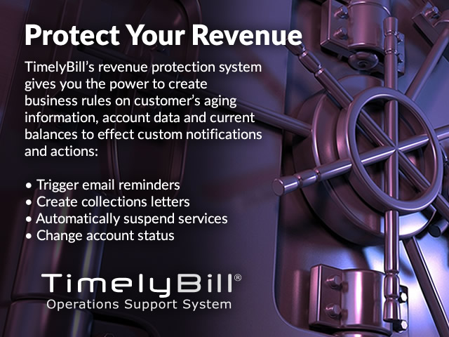 Revenue protection for communication service providers.
