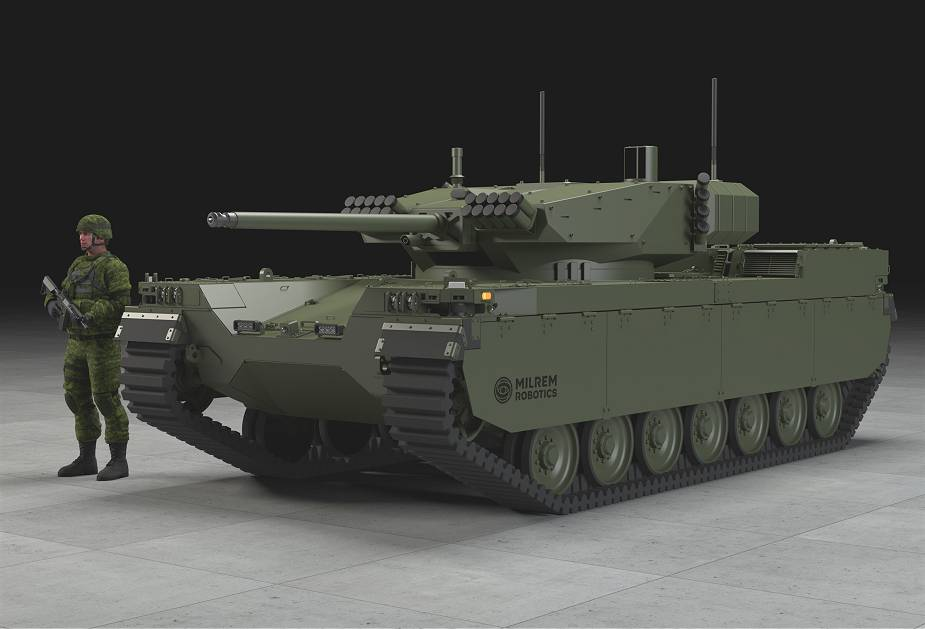 "SI VIS PACEM PARA BELLUM"""""": Milrem Robotics ha presentato il veicolo  robotizzato ""Type-X"""