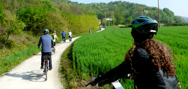 Tour de bicicleta em Pádua