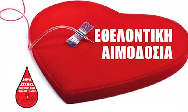 2η Εθελοντική αιμοδοσία από την IPA Αργολίδας σε συνεργασία με την Ε.Υ.Π.Σ. Αργολίδας