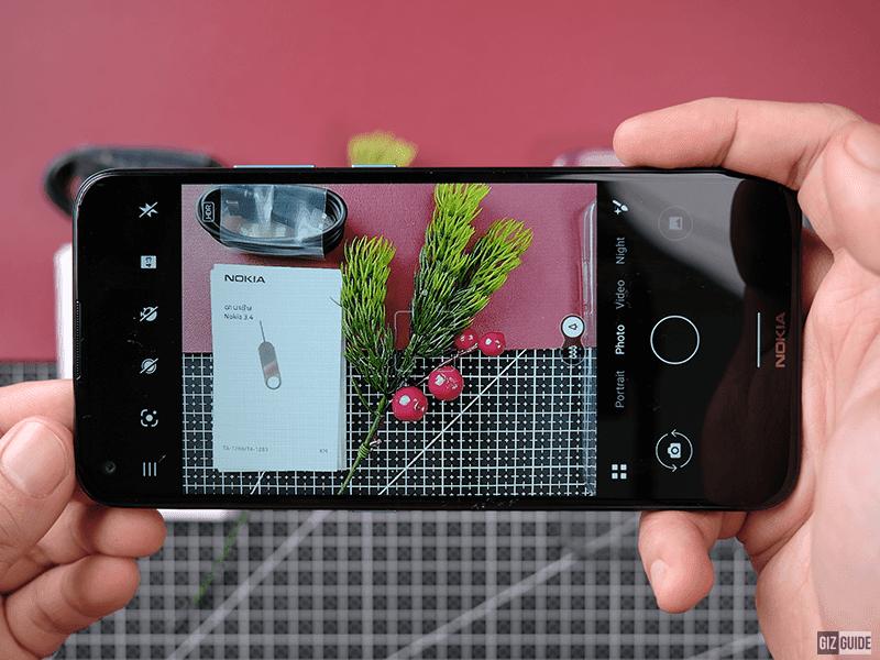 Simple camera UI