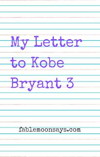 Minha carta para Kobe Bryant 3 10