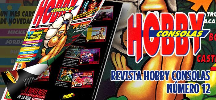 Revista Hobby Consolas Nº 12 1992