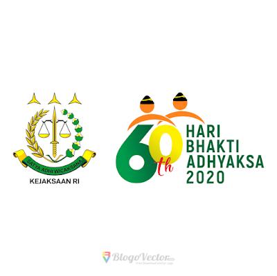 Hari Bhakti Adhyaksa ke-60 (2020) Logo Vector