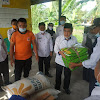Wali Kota AJB Serahkan Bantuan Pangan Bagi Warga Korban Banjir 3 Desa Tanjung
