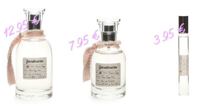 Sección Beauty & Fragances de Stradivarius - Fragancias