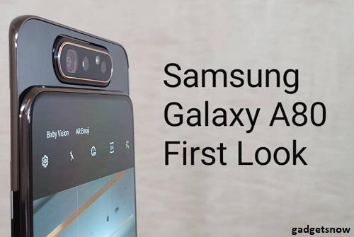 Review Lengkap Samsung A80 Yang Harga 8 Jutaan Dengan Bentuk Camera Yang Unik