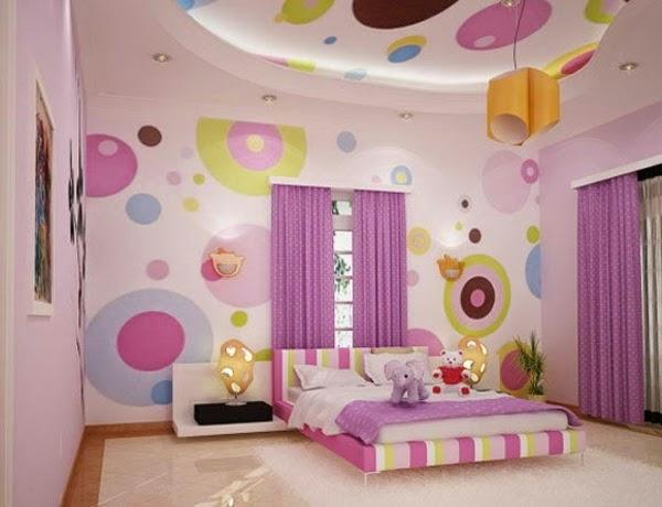 cuarto de colores niña