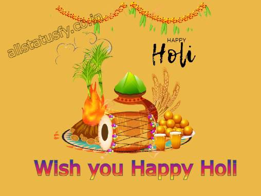 Best Holi wishes in hindi status