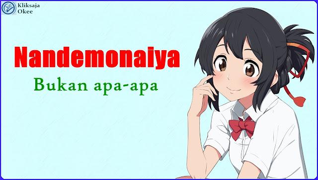Lirik dan Terjemahan RADWIMPS - Nandemonaiya bahasa Indonesia