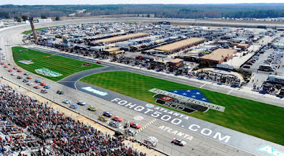 Race Stage Lengths For This #NASCAR Weekend At Atlanta Motor Speedway