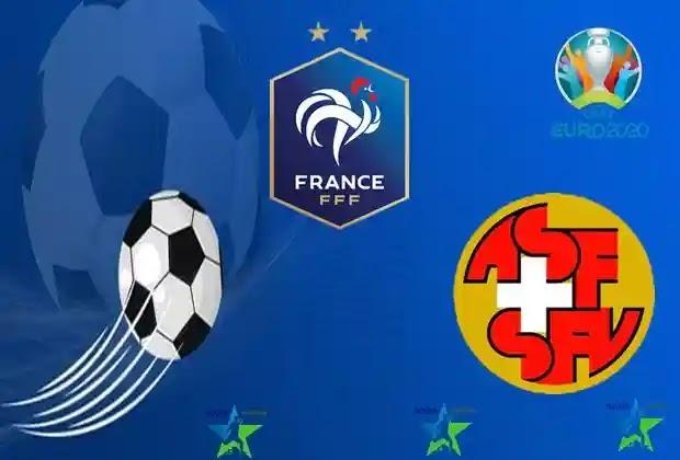 مباريات اليورو 2020,ثنائية كريم بن زيما,منتخب فرنسا ,منتخب سويسرا