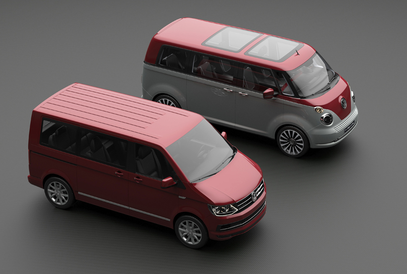 VW T1 Microbus Revival Concept Envisioned On T6 Platform ...