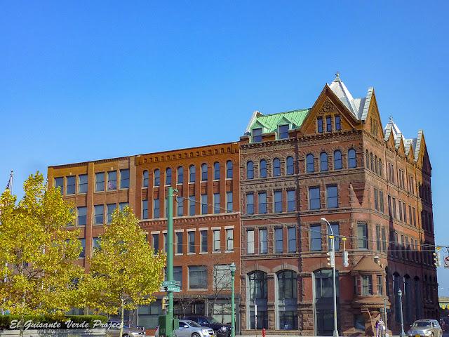 Community Chest Building - Syracuse, NY por El Guisante Verde Project