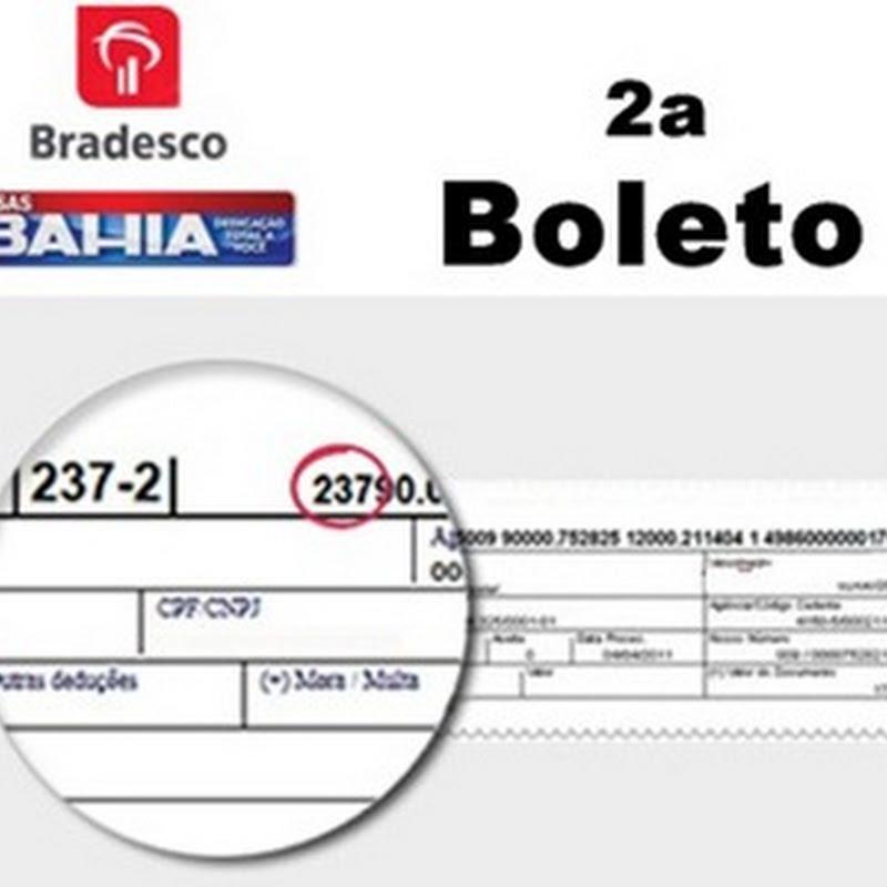 Emitir Boleto 2 Via Boleto Casas Bahia Linha Digitavel