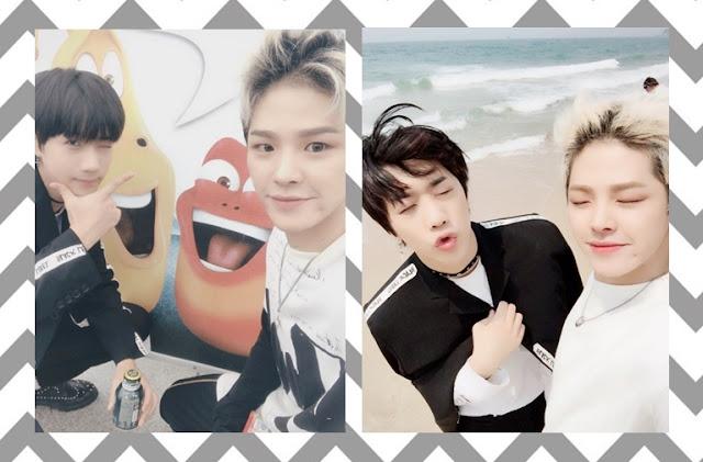 K-Pop grupo MVP -  PK e Rayoon
