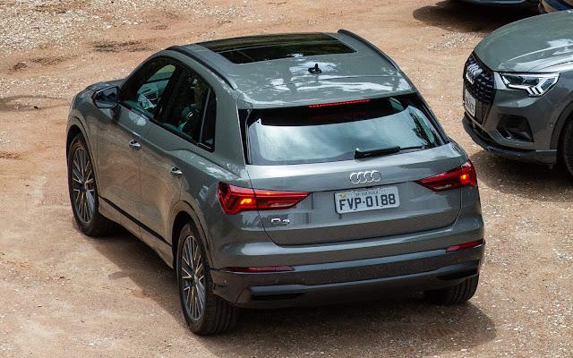 Novo Audi Q3 2020 (Brasil) - Teto Solar