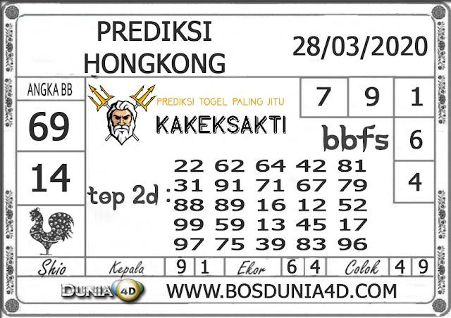 Prediksi Togel HONGKONG DUNIA4D 28 MARET 2020
