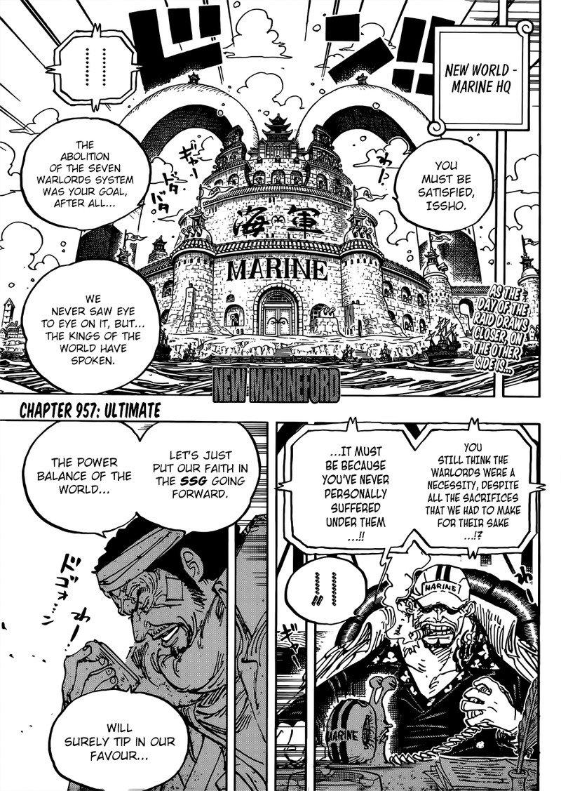 One Piece Manga Chapter 957 - Image 003