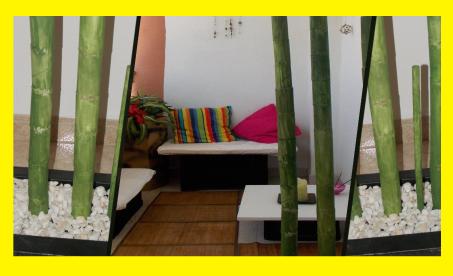 Jardinera con bamb de cart n manualidades forja ideas - Jardineras con bambu ...