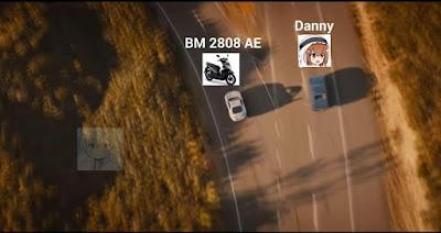 Meme Danny dan Beat Hitam BM 2808 AE