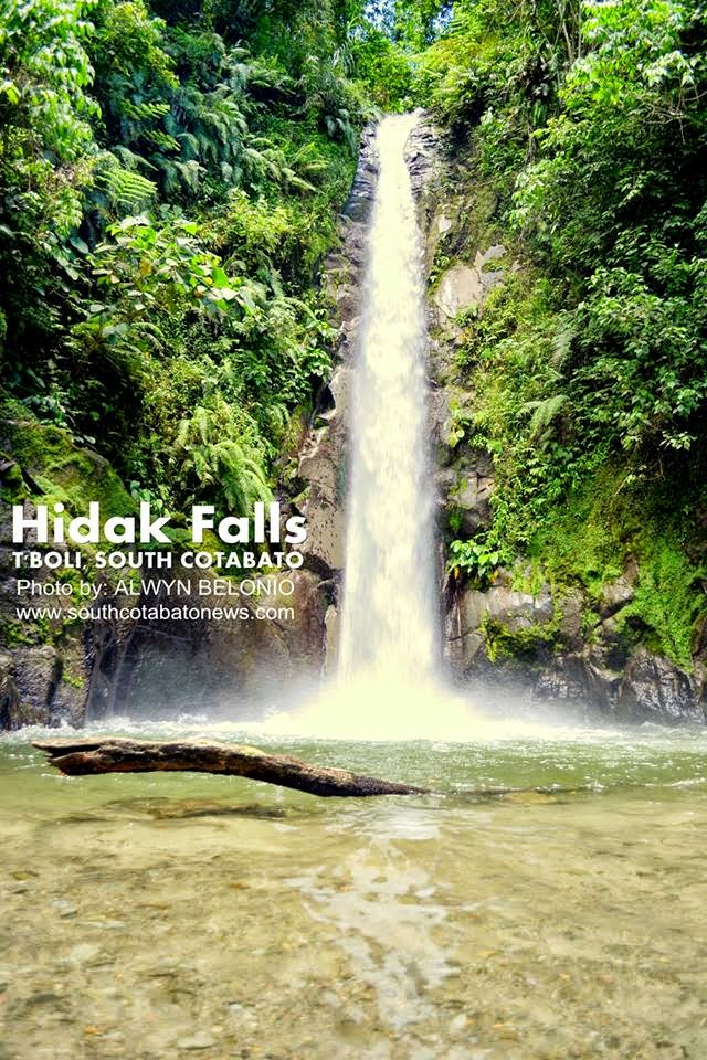 Hidak Falls, Tboli's next big attraction