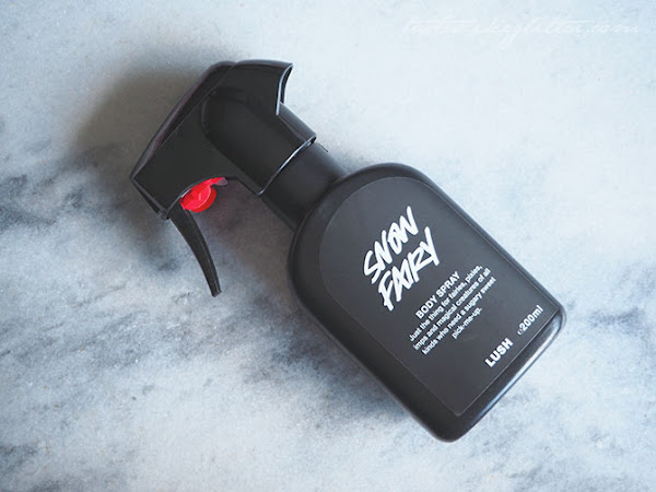 Lush Snow Fairy Body Spray.