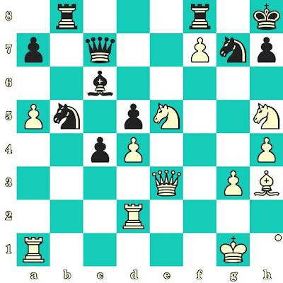 Les Blancs jouent et matent en 2 coups - Bela Khotenashvili vs Olga Lagutina, Bakou, 2016