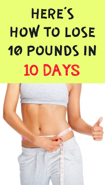 Perfect Way To Lose 10 Pounds In 10 Days