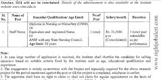 31.5K Salary Staff Nurse Jobs