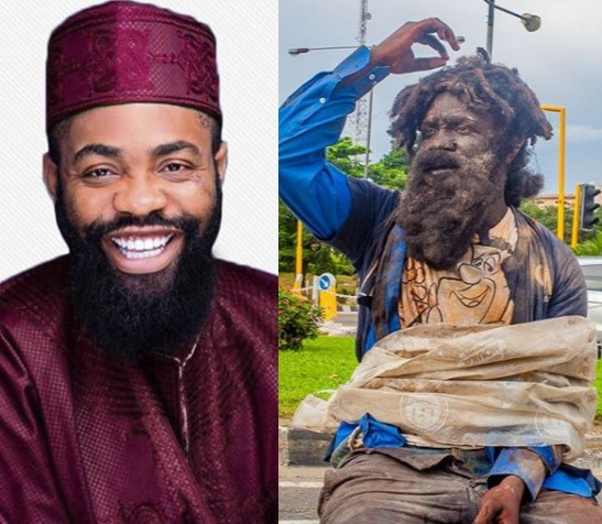 comedian Woli Arole recounts his experience after dressing like a mentally ill person