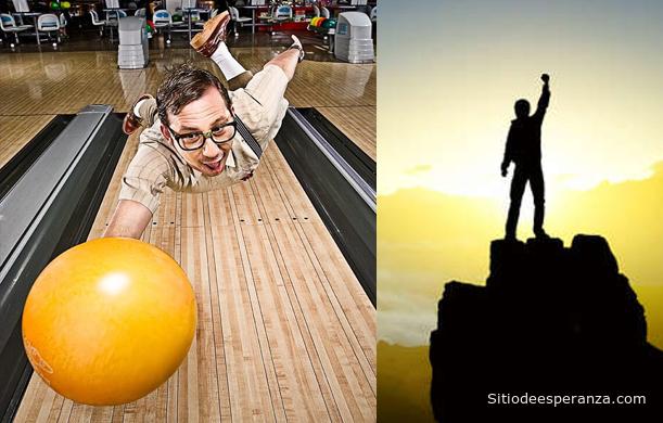 Fallando el bowling