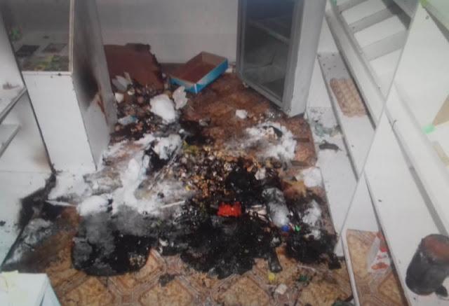 Житель Баймакского района пытался сжечь магазин