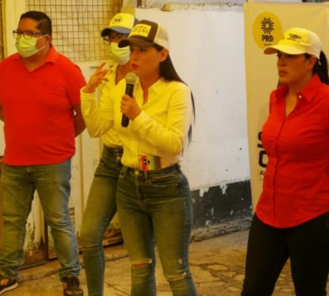 Hija de Alejandra Barrios, lideresa detenida, será diputada local DEL PRI