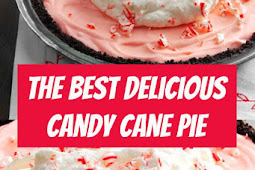 The Best Candy Cane Pie Recipe #pie #candypie #pierecipe #candycanepie