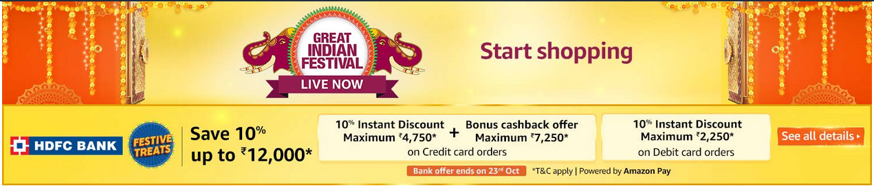 Amazon Festival Offers