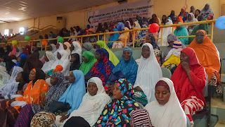There is lot of violence against women in Niger and today they fought against with singing