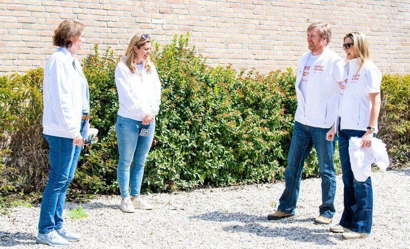The NLDoet is organized by Oranje Fonds. Crown Princess Amalia, the Princess of Orange