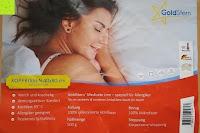 Info: GOLD STERN Medicate Allergiker Kopfkissen 40x80 cm, waschbar 95 Grad
