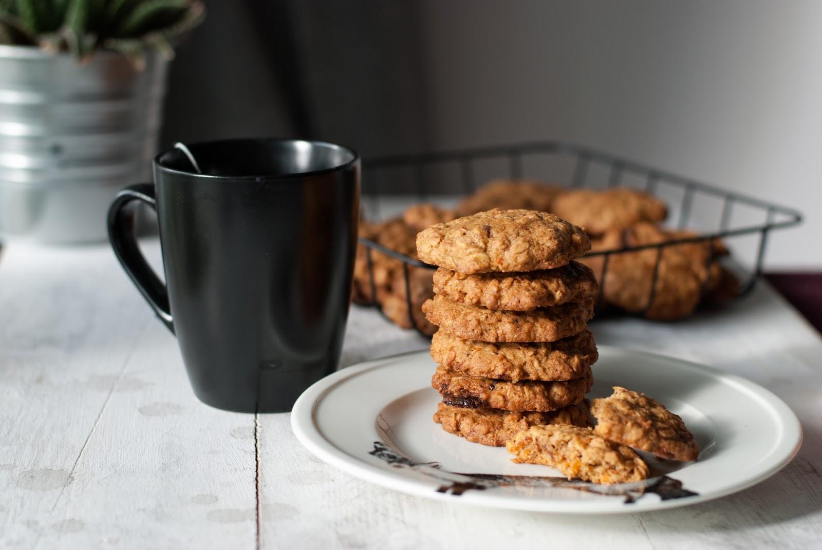 Marchewkowe ciasteczka owsiane bez glutenu